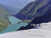 Melting Glaciers above Kaprun Hydro Dams, Austria